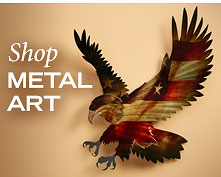Shop Stained Metal Art