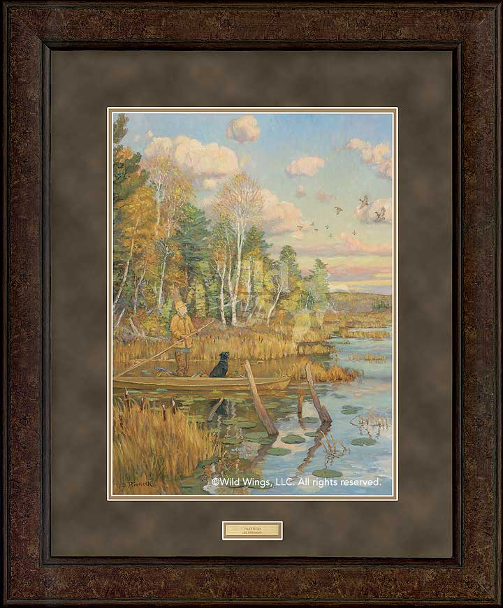 Duck hunting framed pictures