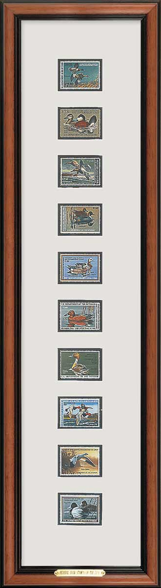 Federal Duck Stamps of 80\'s Framed | Wild Wings