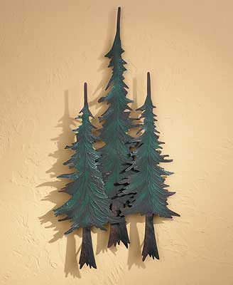 Cabins & Trees Wall Sculptures | Wild Wings